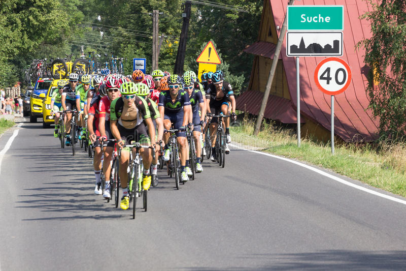 Tour de Pologne 2015 royalty free stock images