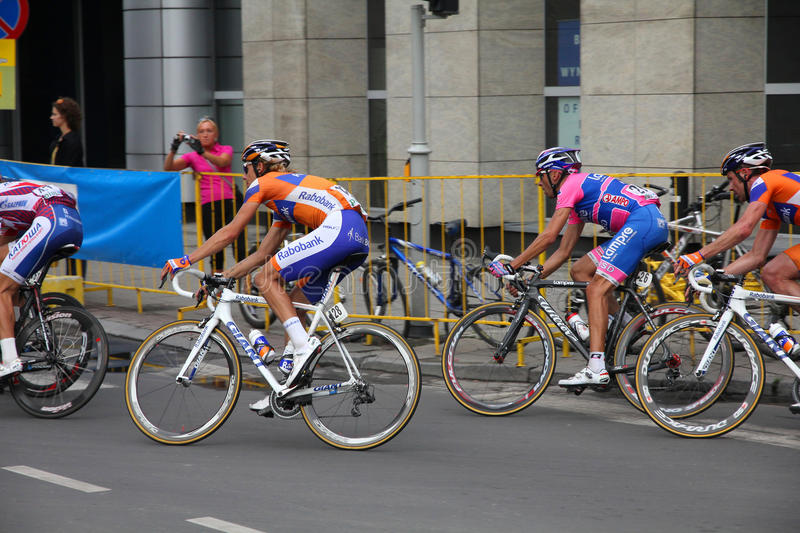 Download Tour de Pologne cyclists editorial photography. Image of riders - 20572907