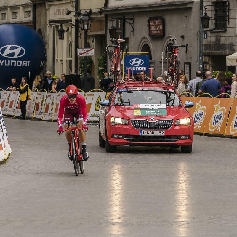 Tour de Pologne 2016 royalty free stock photos