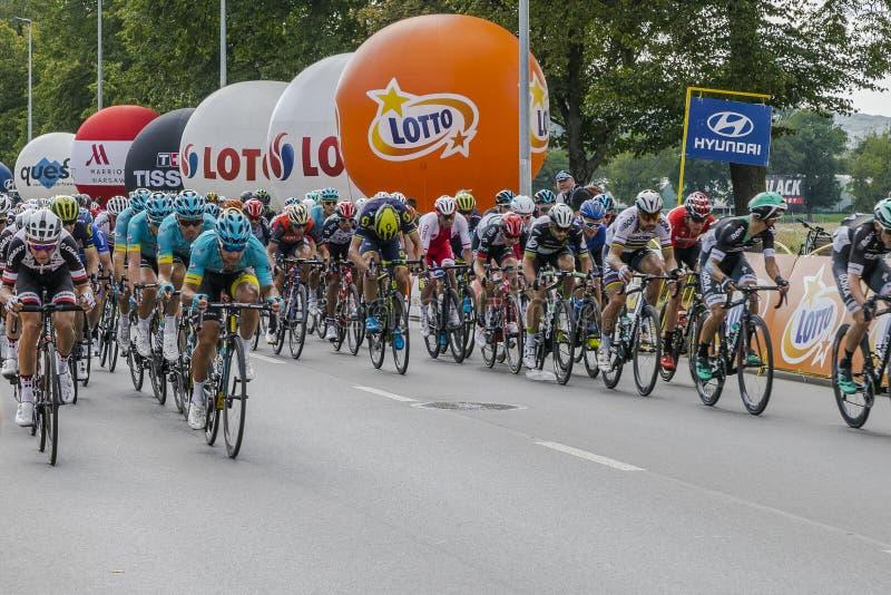 Tour de Pologne 2017 stock photo