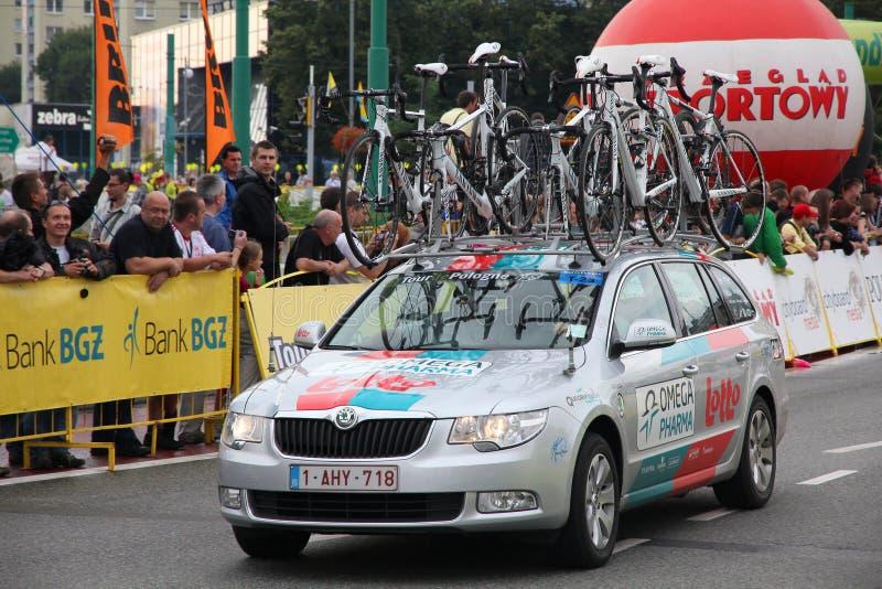 Download Tour De Pologne Team Vehicle Editorial Photography - Image: 20572887