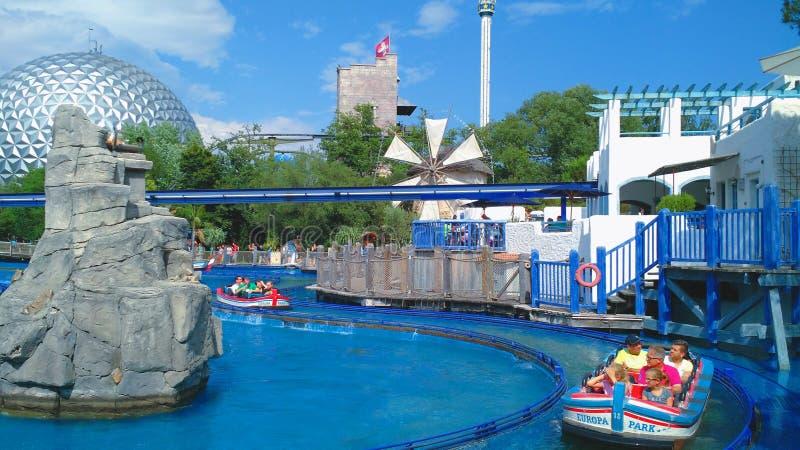Tour de Poseidon de parc d'Europa photo stock