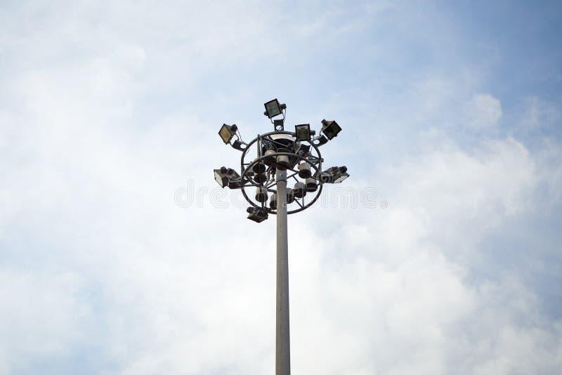 Tour de projecteur photographie stock libre de droits