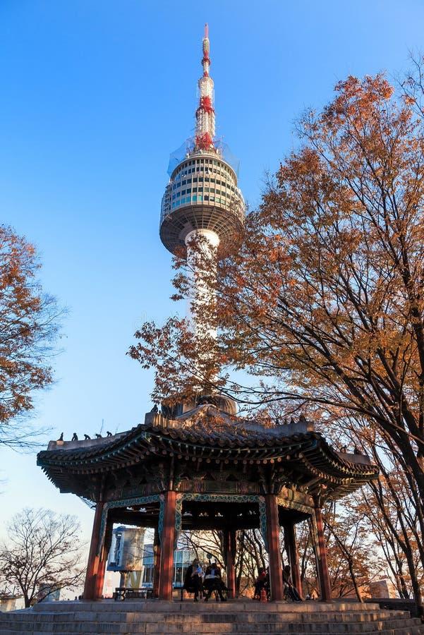 Download Tour de Séoul photo stock. Image du tour, séoul, bleu - 56487716