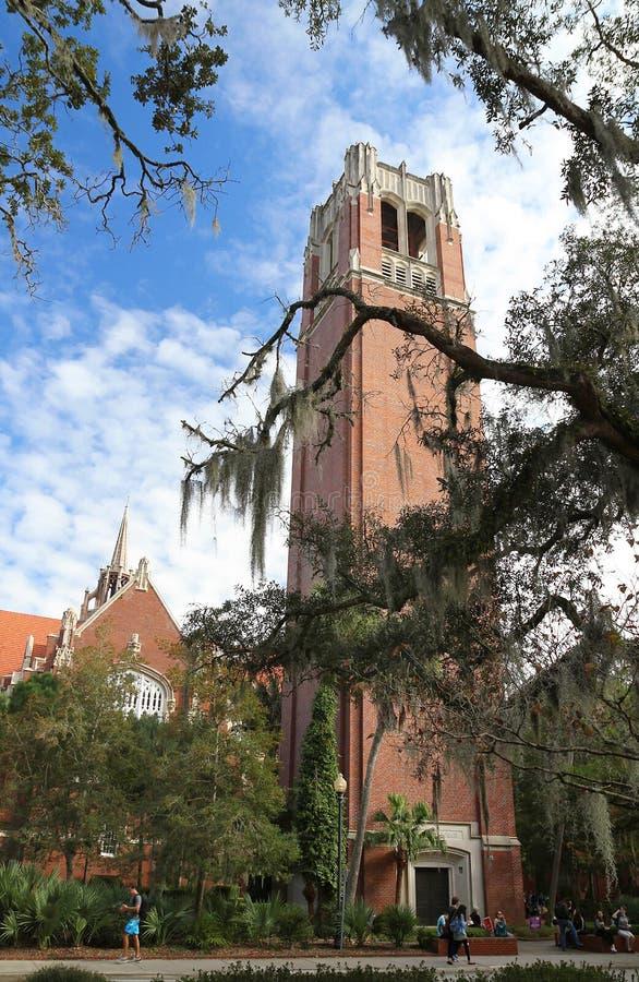 Tour de siècle à l'université de Gainesville, la Floride Etats-Unis photo libre de droits