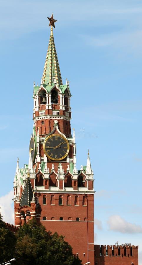 Tour de Spasskaya image libre de droits