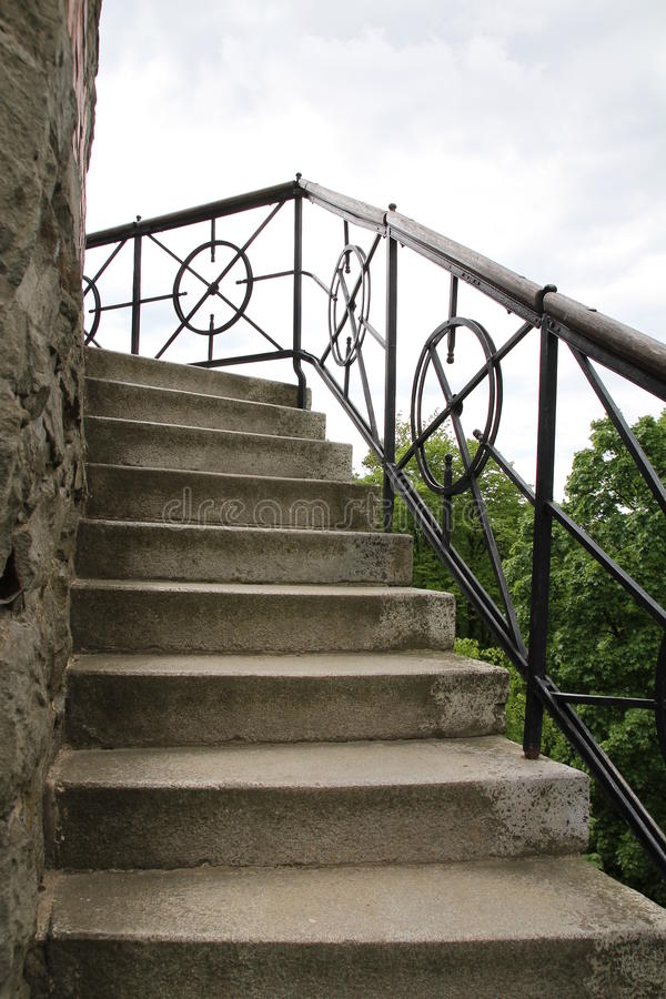 Tour de surveillance des escaliers photos libres de droits