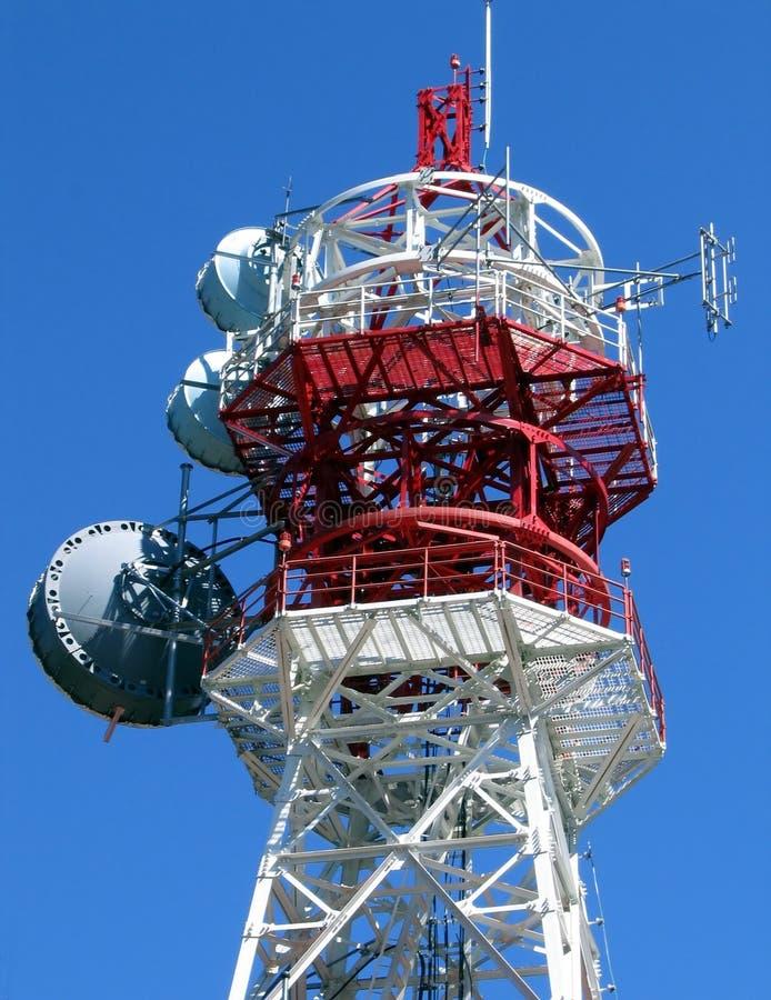 Tour de télécommunications photo stock