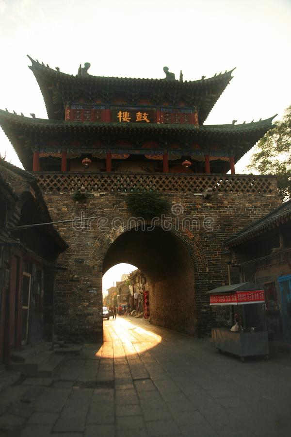 Tour de tambour de Luoyang photos libres de droits