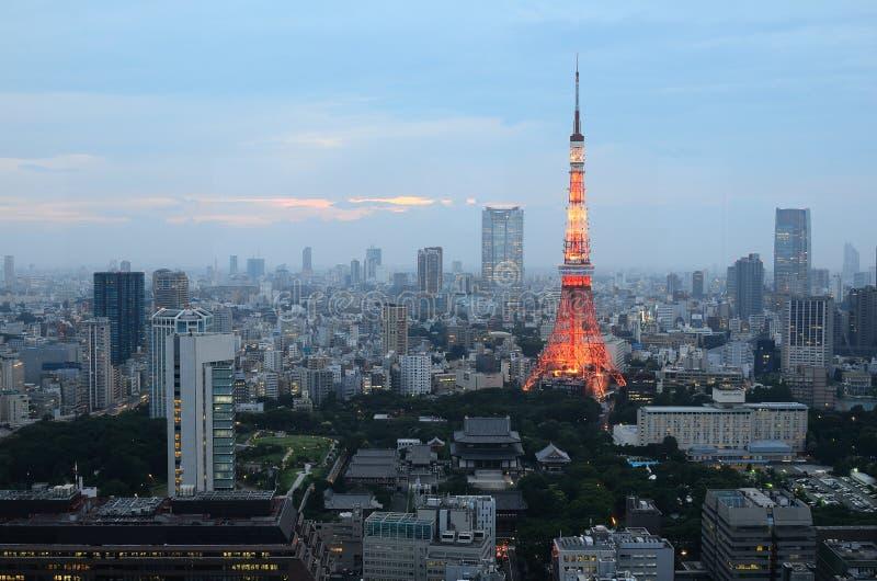 Tour de Tokyo photo stock
