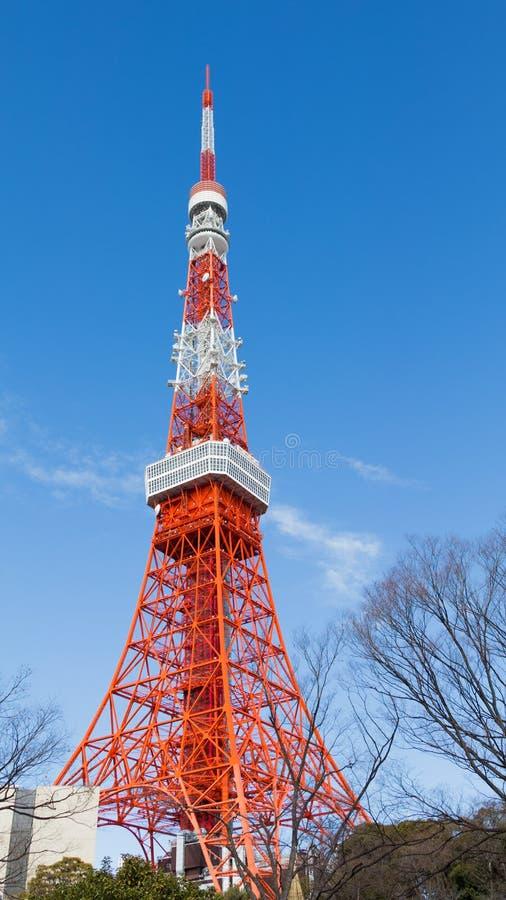 Tour de Tokyo de conception architecturale d'air image libre de droits