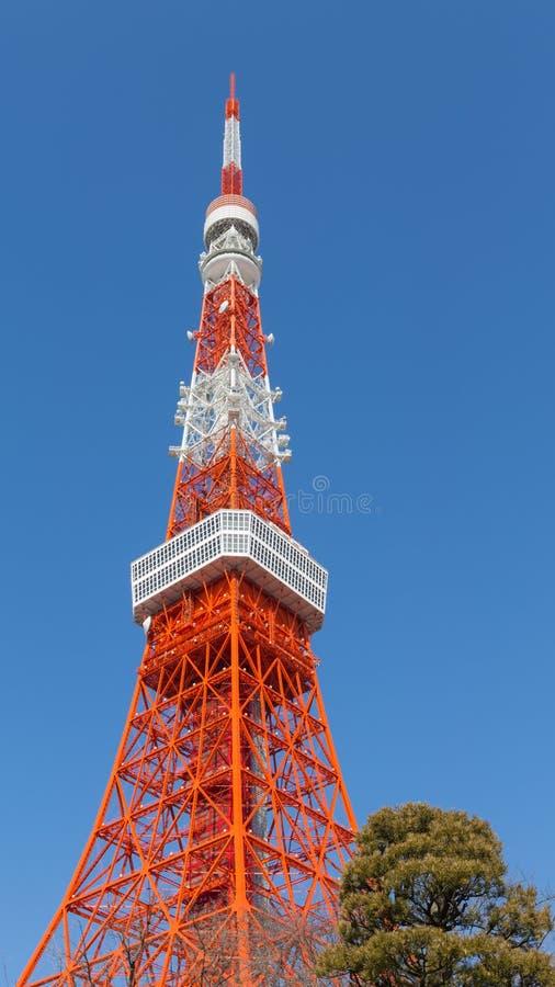Tour de Tokyo de conception d'air image libre de droits