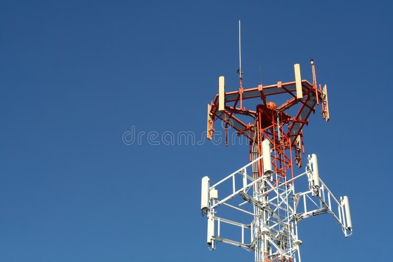 Tour de transmissions images libres de droits