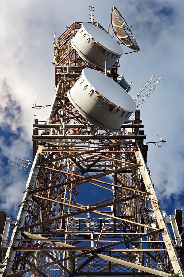 Tour de transmissions image stock