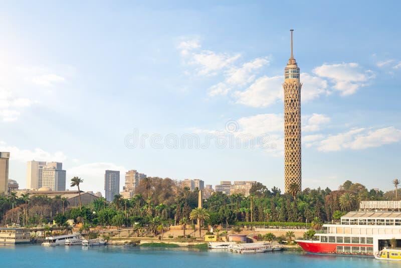 Tour de TV au Caire image stock