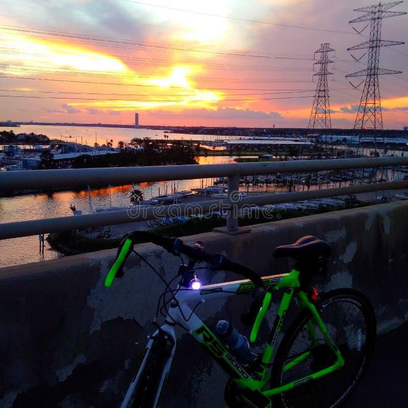 Tour de vélo photographie stock