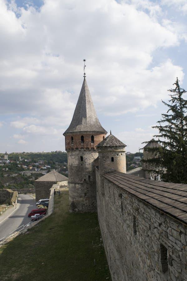 Tour de vieille forteresse images stock