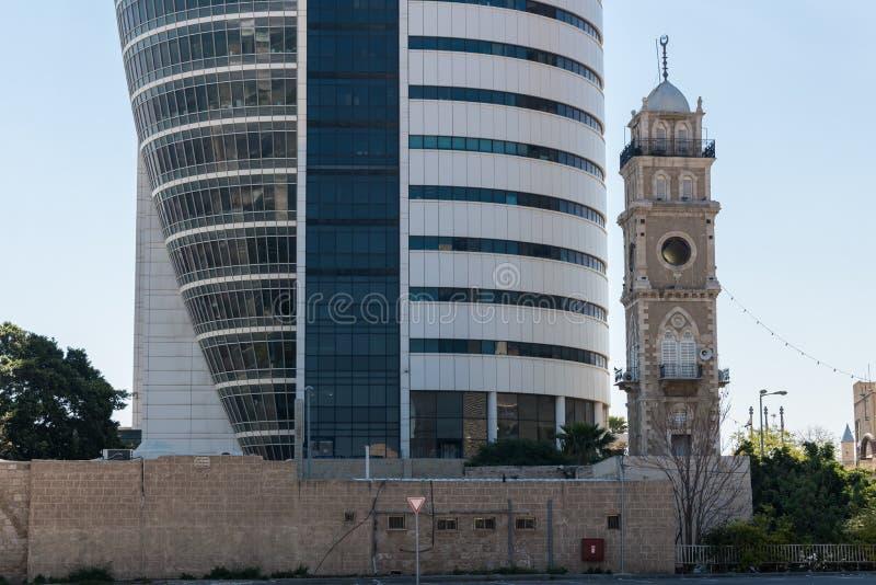 Tour de voile à Haïfa images stock