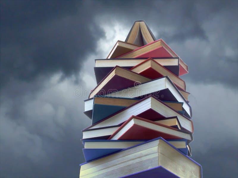 Tour des livres photo libre de droits