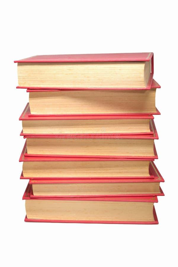 Tour des livres, vieux livres photo stock