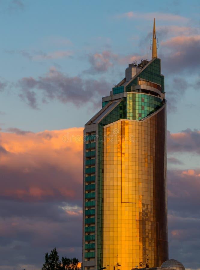 Tour des transports, Nur-Sultan, Kazakhstan photos stock