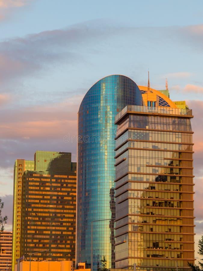 Tour des transports, Nur-Sultan, Kazakhstan images stock