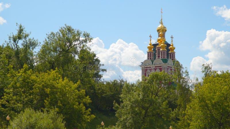 Tour du couvent de Novodevichy photo stock