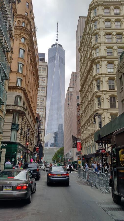 Tour du monde de NYC un image libre de droits