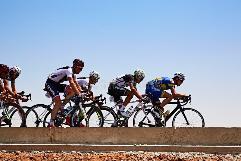 Tour du Senegal 2017 from Dakar to Dakar 8 Stages WInner Islam Mansouri stock images