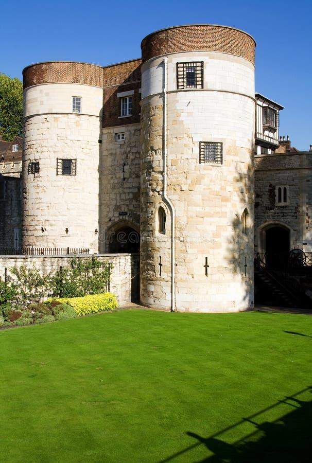 Tour du tourisme de château de Londres photo stock