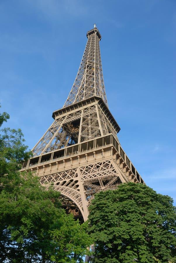 Tour Eiffel, été images libres de droits