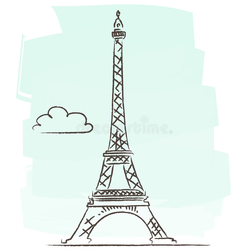 Download Tour Eiffel vector stock vector. Image of architecture - 22855675