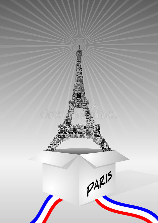 Download Tour eiffel box stock vector. Illustration of vector - 22808401