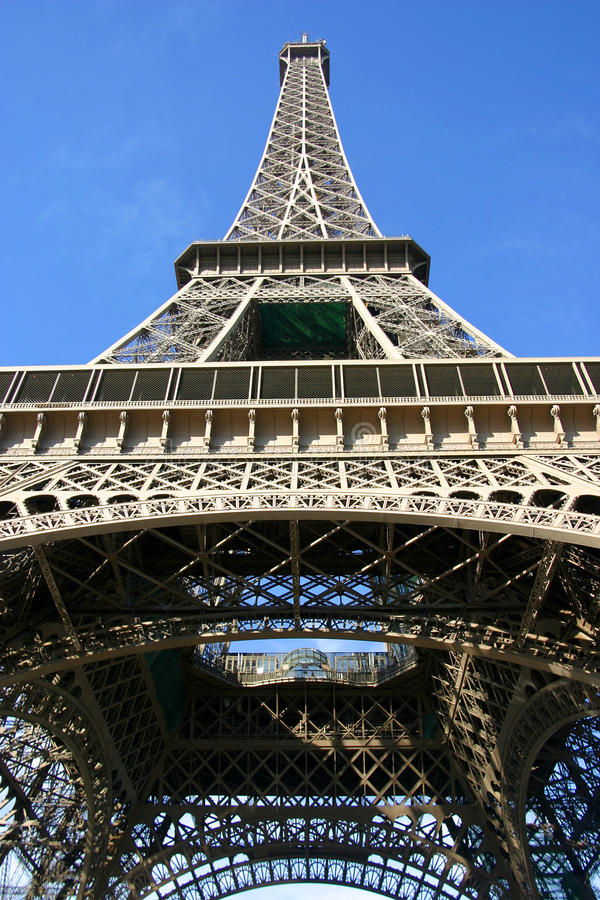 Tour Eiffel dans la ville de Paris, France photos stock