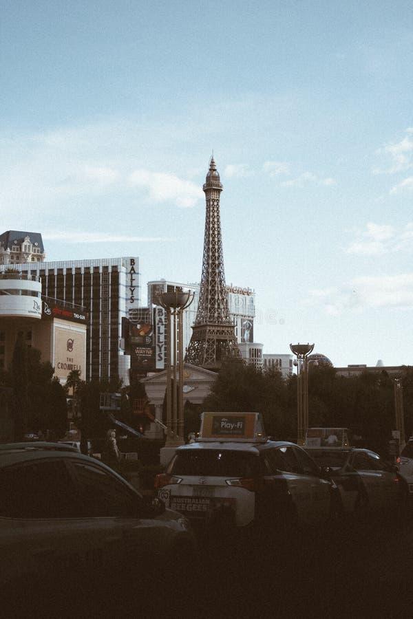 Tour Eiffel de Las Vegas image stock