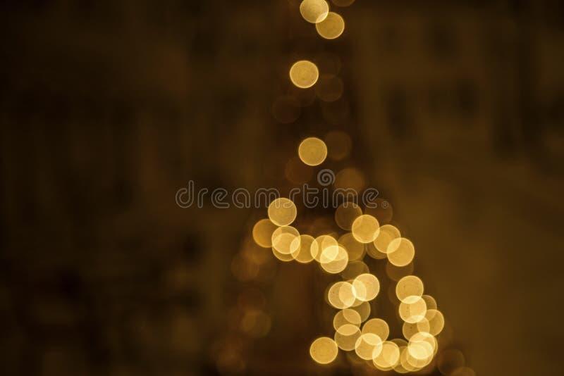 Tour Eiffel de nouvelle année photos stock