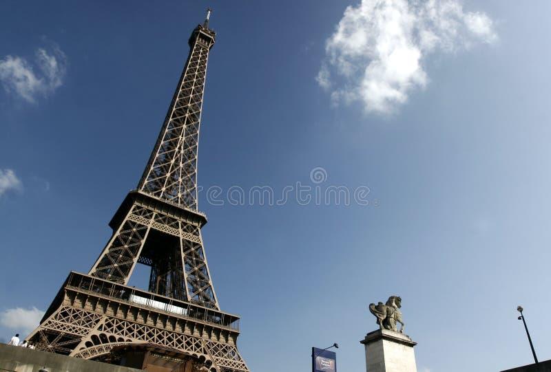 Tour Eiffel de Paris image libre de droits