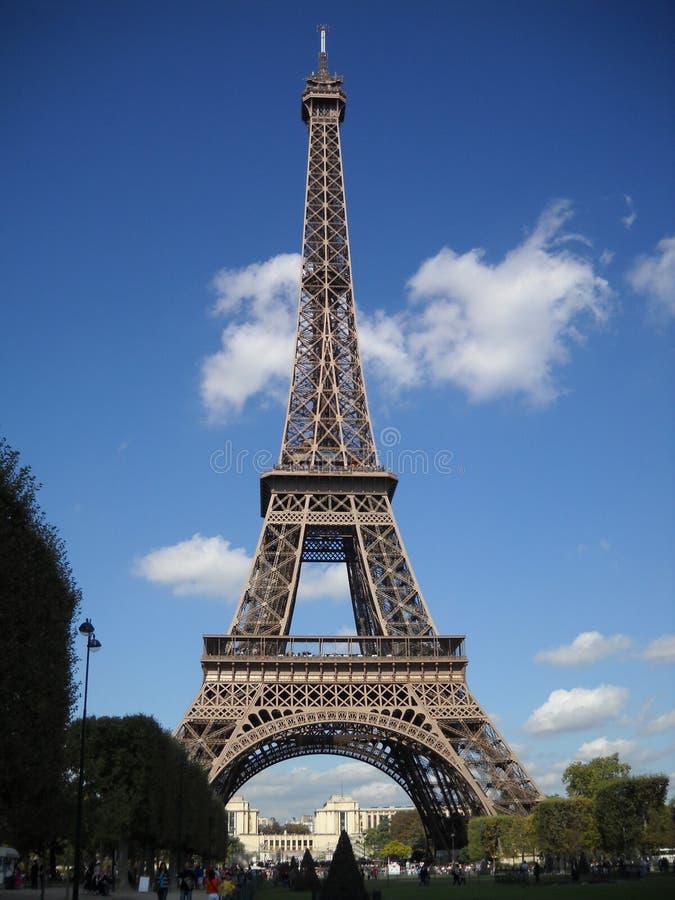 Tour Eiffel de Paris dans les Frances photographie stock libre de droits