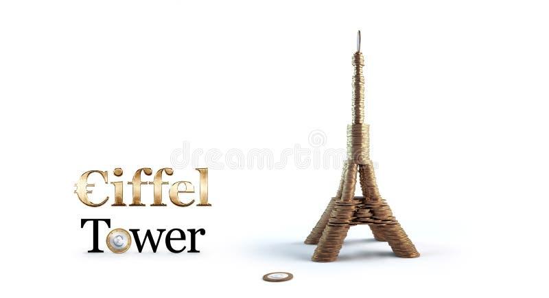 Tour Eiffel des conis photos libres de droits