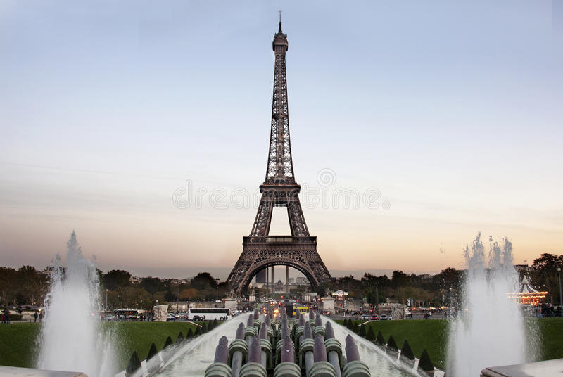 Download Tour Eiffel At The Evening - Paris Stock Image - Image: 27638475