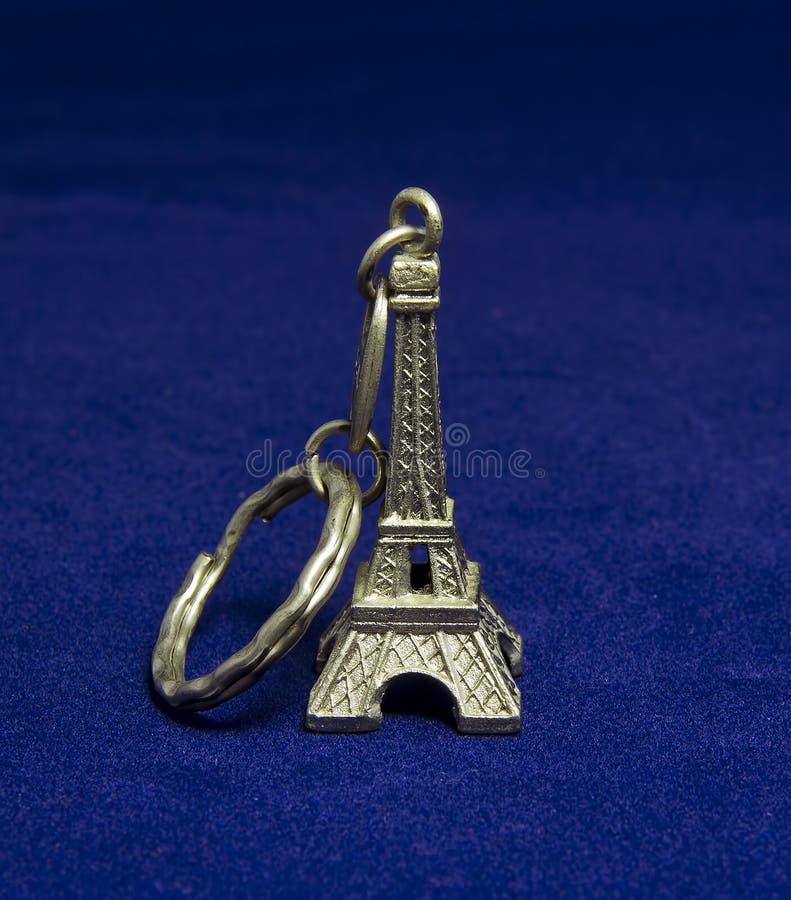 Tour Eiffel Keychain photo stock