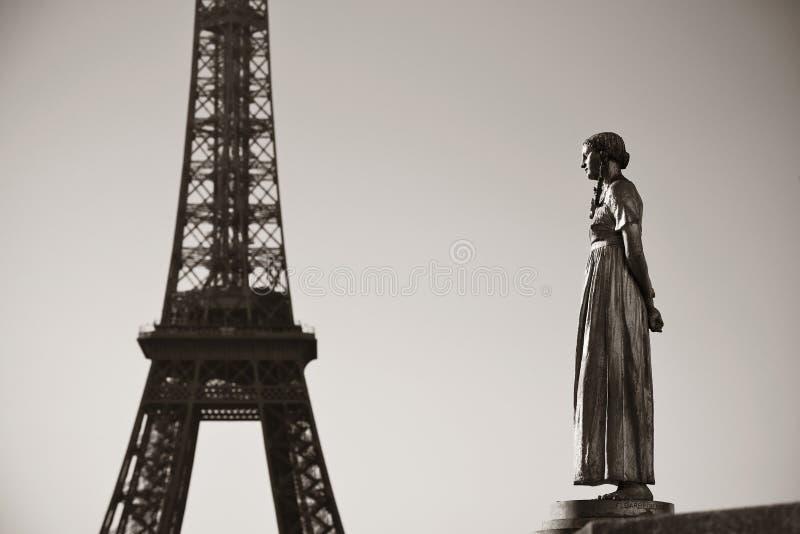 Tour Eiffel Paris images libres de droits