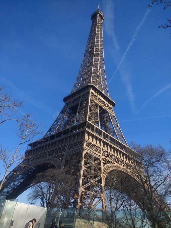 Tour Eiffel ? Paris image libre de droits