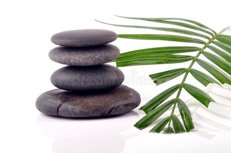 Tour en pierre de zen image libre de droits