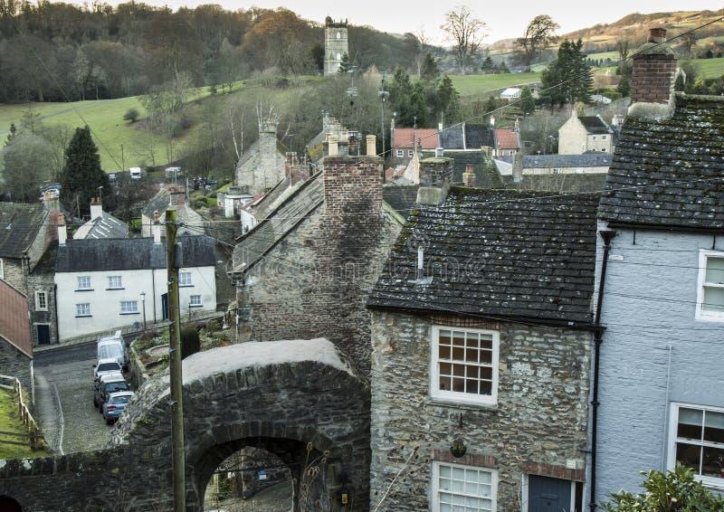 Tour et voûte de Culloden près de Richmond Castle image libre de droits