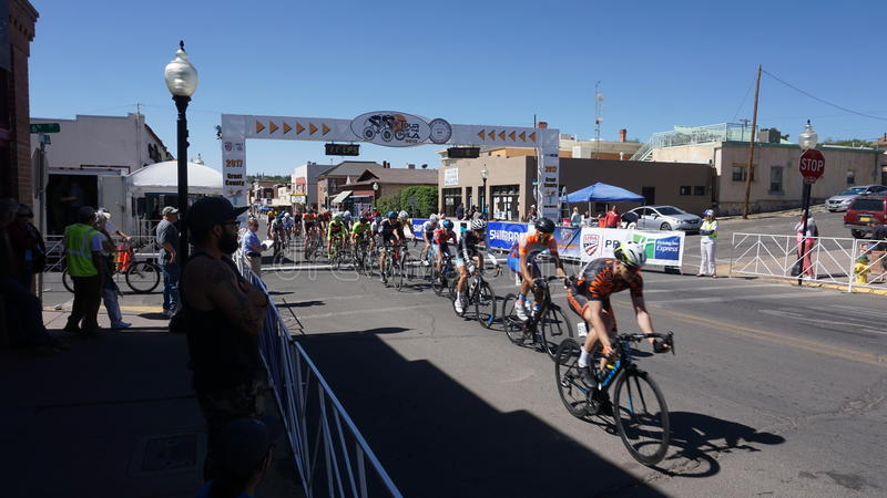 Download Tour Of The Gila Bike Race Silver City, NM 2017 Editorial Photo - Image: 91067511
