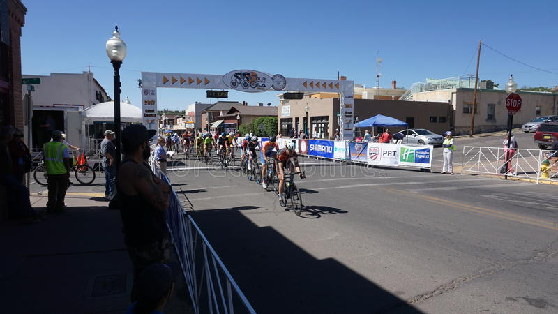 Download Tour Of The Gila Bike Race Silver City, NM 2017 Editorial Image - Image of 2017, city: 91067565