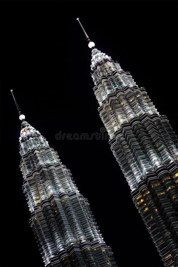 Tour jumelle de Petronas photographie stock