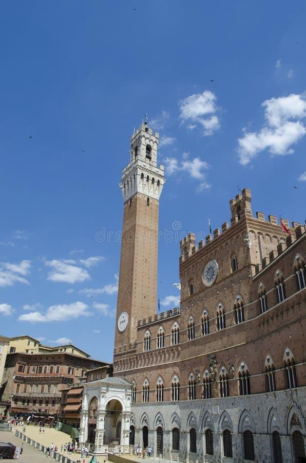 Tour médiévale de Siena Palio Tuscan photo libre de droits