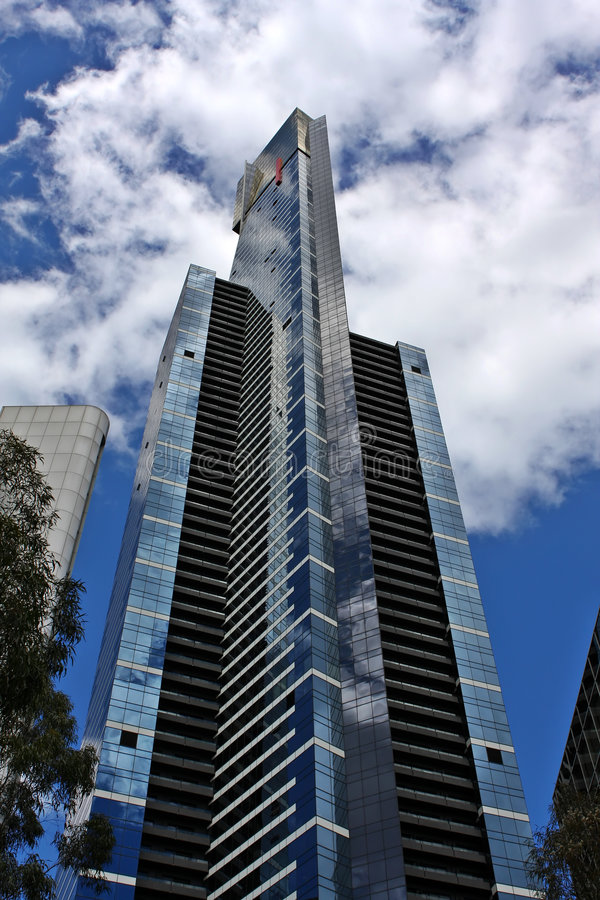 Tour Melbourne D Eureka Photos stock